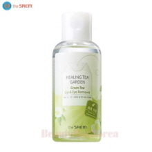 THE SAEM Healing Tea Garden Green Tea Lip & Eye Remover [Moisturizing] 150ml,THE SAEM